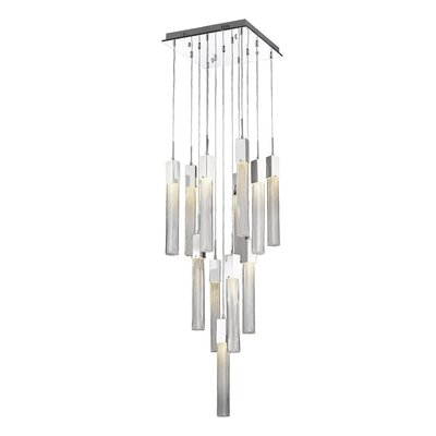 Oldenburg 13-Light LED Cluster Pendant Finish: Polished Chrome