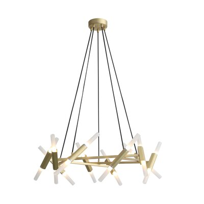 Harris 20-Light LED Cluster Pendant