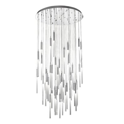 Kohn 51-Light  LED Cluster Pendant Finish: Polished Nickel