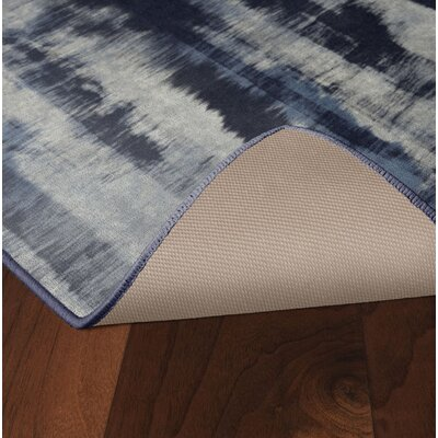 Demetrius Navy Area Rug Rug Size: Rectangle 26 x 310