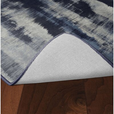 Demetrius Navy Area Rug Rug Size: Rectangle 5 x 8