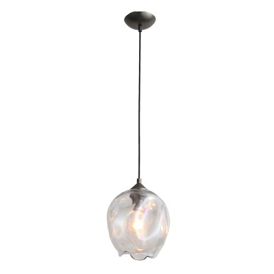 Hegewisch 1-Light Globe Pendant Size: 173 H x 11.8 W