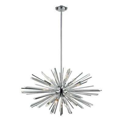 Kolb 8-Light Sputnik Chandelier Finish: Polished Chrome