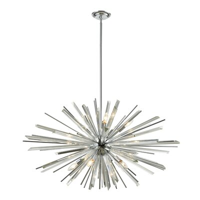 Kolb 10-Light Sputnik Chandelier Finish: Polished Chrome