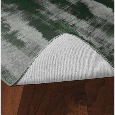 Demetrius Green Area Rug Rug Size: Rectangle 5 x 8