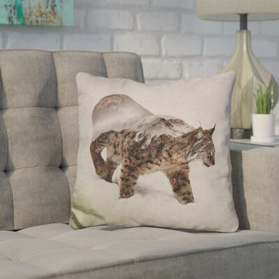 Kenyon Lynx Throw Pillow