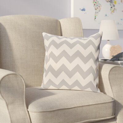 Milo Throw Pillow Size: 20 H x 20 W, Color: Light Gray