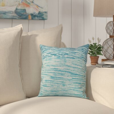 Rocio Ocean View Throw Pillow Size: 20 H x 20 W, Color: Teal