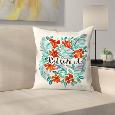 Killinit Throw Pillow Size: 16 x 16