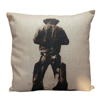 Pressler Burlap Throw Pillow
