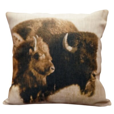 Pressman Burlap Throw Pillow