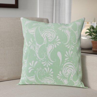 Klassen Indoor/Outdoor 100% Cotton Pillow Cover Color: Hemlock/White