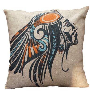 Odle Burlap Throw Pillow