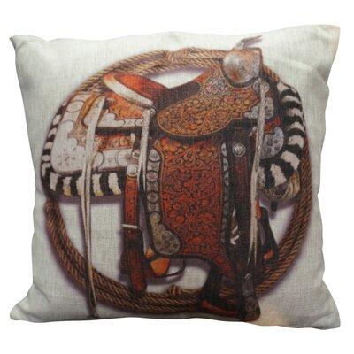 Principato Burlap Throw Pillow