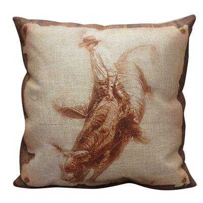 Prisco Burlap Throw Pillow