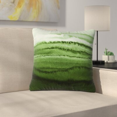 Tides Fresh Forest Outdoor Polyester/Polyester Blend Throw Pillow