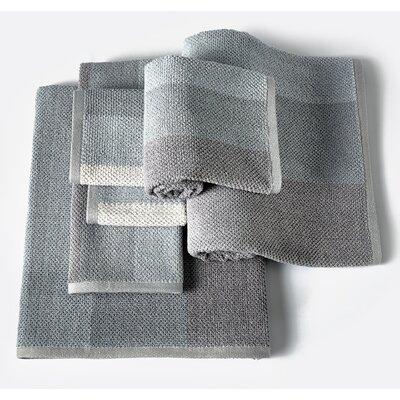 Scott Ombre 6 Piece Towel Set