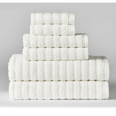 Novack Texture 6 Piece Towel Set