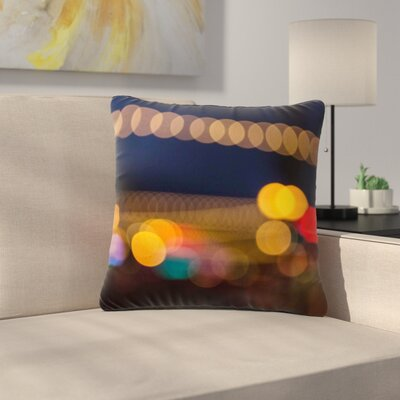 Juan Paolo Tremont Bokeh Urban Outdoor Throw Pillow Size: 18 H x 18 W x 5 D
