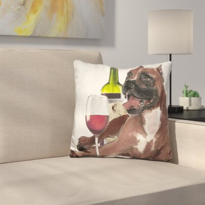Wine A Pit Throw Pillow