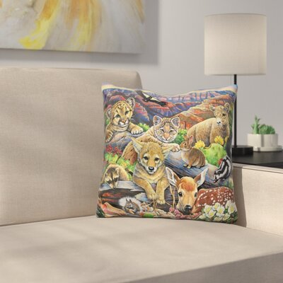 Grand Canyon Babies Throw Pillow