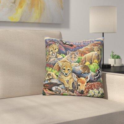 Grand Canyon Babies Throw Pillow