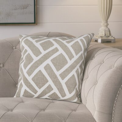 Berumen 100% Cotton Pillow Cover Color: Taupe