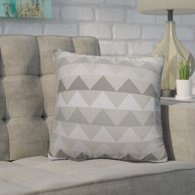 Gavin Throw Pillow Size: 16 H x 16 W x 5 D, Color: Grey