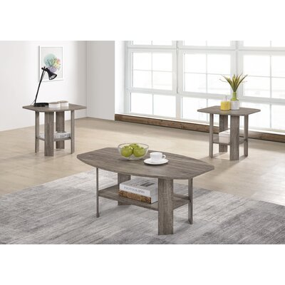 Hillen 3 Piece Coffee Table Set