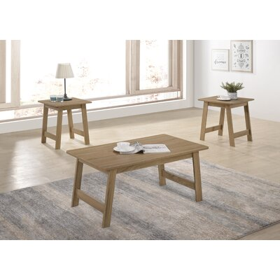 Gadson 3 Piece Coffee Table Set