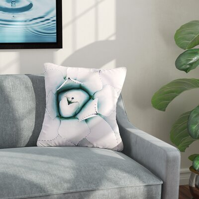 Northern Star Floral Outdoor Throw Pillow Size: 16 H x 16 W x 5 D