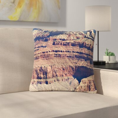 Sylvia Coomes Grand Canyon Landscape 1 Outdoor Throw Pillow Size: 16 H x 16 W x 5 D