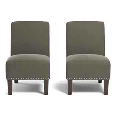 Ferebee Side Chair Upholstery: Mink Gray