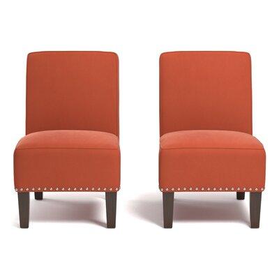 Ferebee Side Chair Upholstery: Orange