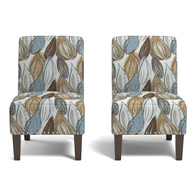Ferebee Side Chair Upholstery: Blue