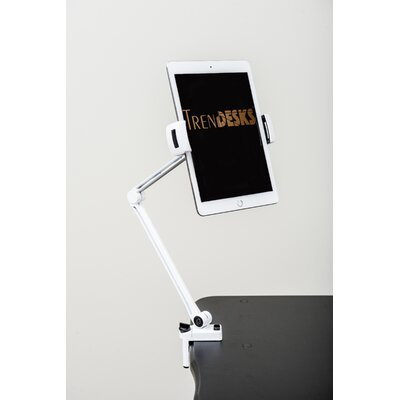 Cell Tablet iPad Holder Accessory Color: White