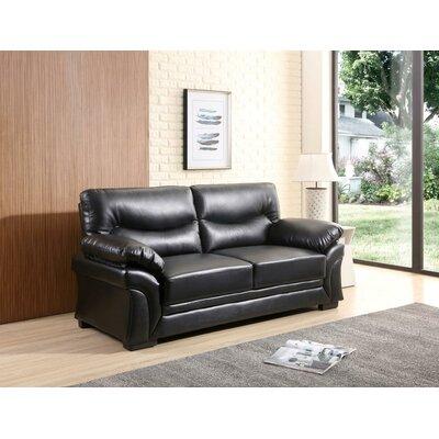 Pawlak Sofa Upholstery: Black