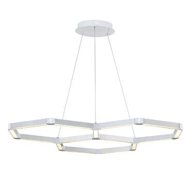 Rosenzweig 3-Light LED Geometric Pendant