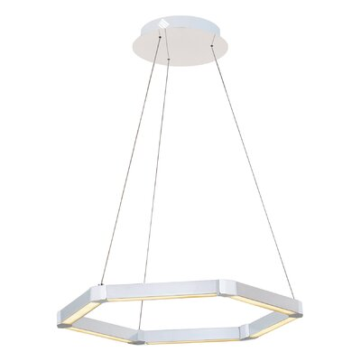 Rosenzweig 1-Light LED Geometric Pendant