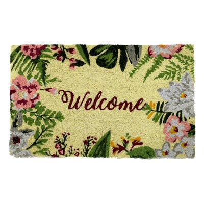 Kisner PVC Back Coir Bleach Doormat