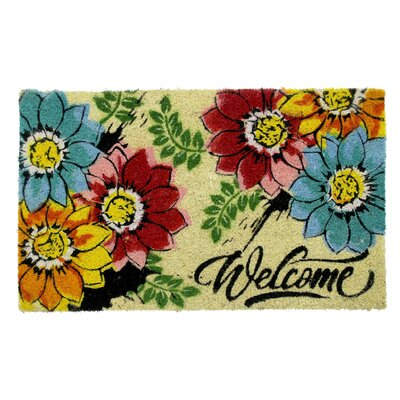 Eades PVC Back Coir Bleach Doormat