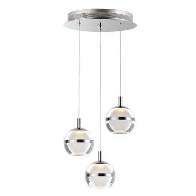 Senters 3-Light LED Cluster Pendant