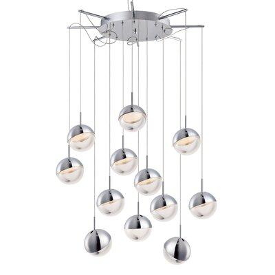 Seo 12-Light LED Cluster Pendant