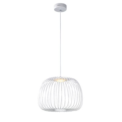 Gunning 1-Light LED Globe Pendant Size: 12.5 H x 15.75 W x 15.75 D