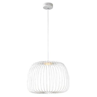 Gunning 1-Light LED Globe Pendant Size: 15 H x 19.75 W x 19.75 D