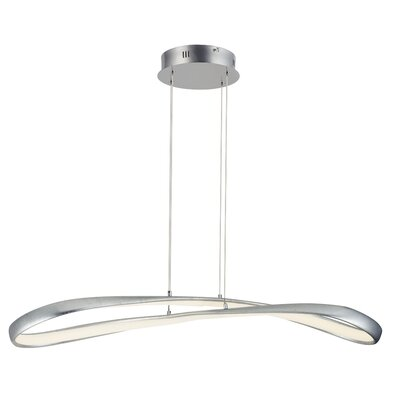 Semple 1-Light LED Geometric Pendant