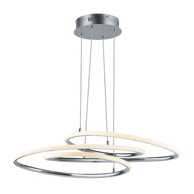 Senecal 1-Light LED Geometric Pendant