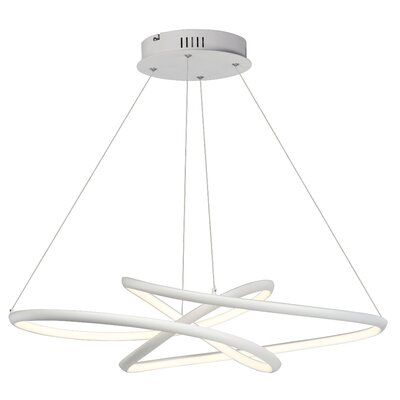 Seng 1-Light LED Geometric Pendant