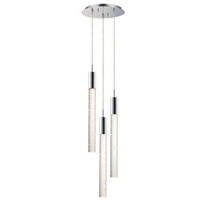 Senn 3-Light LED Cluster Pendant