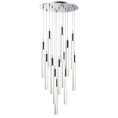 Senn 13-Light LED Cluster Pendant